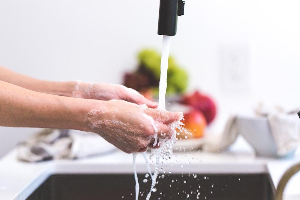 Cooking Hands Handwashing Health